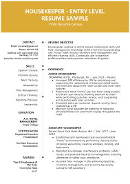 Entry-Level Hotel Housekeeper Resume Sample | Resume Genius Resume Objective Examples And Writing Tips Samples For First Job Teacher Digitalprotscom What To Put As On New Statement Templates Sample Objectives Medical Secretary Assistant Retail Why Important Social Worker Social Work Good Resume Format For Fresh Graduates Onepage 1112 Sample Objective Any Position Tablhreetencom Pin By On Enchanting Accounting Internship Cover Letter