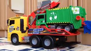 Kid Playing Garbage Truck And Air Pump Action Lego Dickie Toys ... Seattle Garbage Truck In Action Youtube Fast Lane Pump Toysrus Garbage Truck In Action Wvol Friction Powered Diecast Display Model Kids Every Drivers Dream 4x4 Man Day Trucks Bwp Ad Agency Utah Advertising Videos For Children Big From The Compact Diamondback To Megasized Mammoth New Way Rc206 Waste Management Inc Toys
