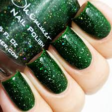 Dill Pickle On The Christmas Tree by Femme Fatale Cosmetics Flowers Of March Nail Polish Other