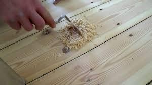 Wood Floor Leveling Filler by Filling Wood Floor Cracks Images Home Flooring Design