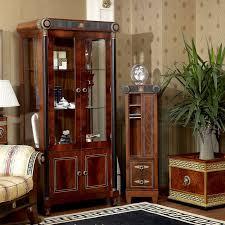 yb10 barock klassische wohnzimmer vitrine europäischen antiken mahagoni holz dekorative wein vitrine schaufenster buy antiken mahagoni dekoration