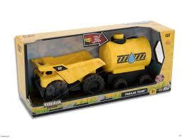 CAT Trailer Team Dump Truck Rear Loader & Irrigation Tank Tough ...