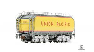 99 N Scale Trucks Union Pacific 24C Fuel Tender By Trainscom