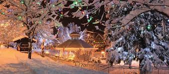 Leavenworth WA Christmas