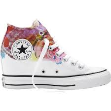 100 Star Lux Converse Womens Chuck Taylor All Mid Casual Shoes