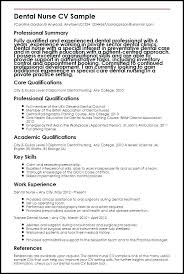 Medical Surgical Nurse Resume Sample Dental Template Staff