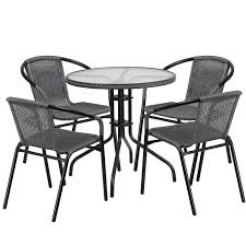 Excellent Glass Patio Table And Chairs Set Small Rent ...
