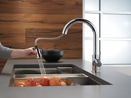 Grohe Concetto Faucet Spec Sheet by Delta Faucet 9159 Dst Trinsic Single Handle Pull Down Kitchen