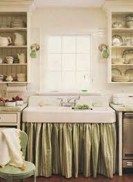 Burlap Utility Sink Skirt by Stylefile 33 The Kitchen Sink Sinks Sink Skirt And Open Shelving