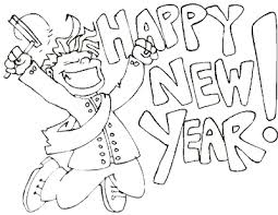 Disney New Years Eve Coloring Pages