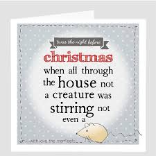 Twas The Night Before Halloween Book by A Personalised U0027twas The Night Before Christmas U0027 Card By Violet
