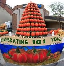 Hamilton Ohio Pumpkin Festival by Circleville Pumpkin Show Ohio Festivals Ohio Things