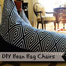 Textile Tuesday DIY Bean Bag Chairs