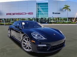 New 2018 Porsche Panamera 4S Executive 4D Hatchback In West Palm ...