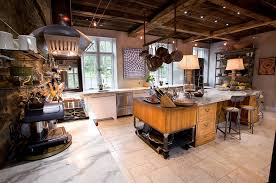 Eclectic Farm Home With Vintage Industrial Kitchen Design Jarrett