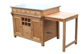 modele de table de cuisine attractive modele de table de cuisine en bois 14 desserte ikea