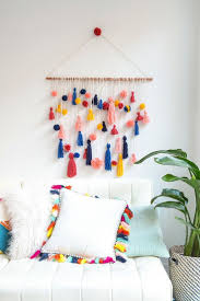 Wall Hanging Ideas 12 How To Make This Ridiculously Adorable Pom Tassel