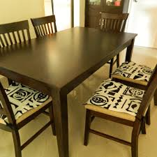 Dining Chair Pads For Comfort Room Indoor Cushions With Ties And