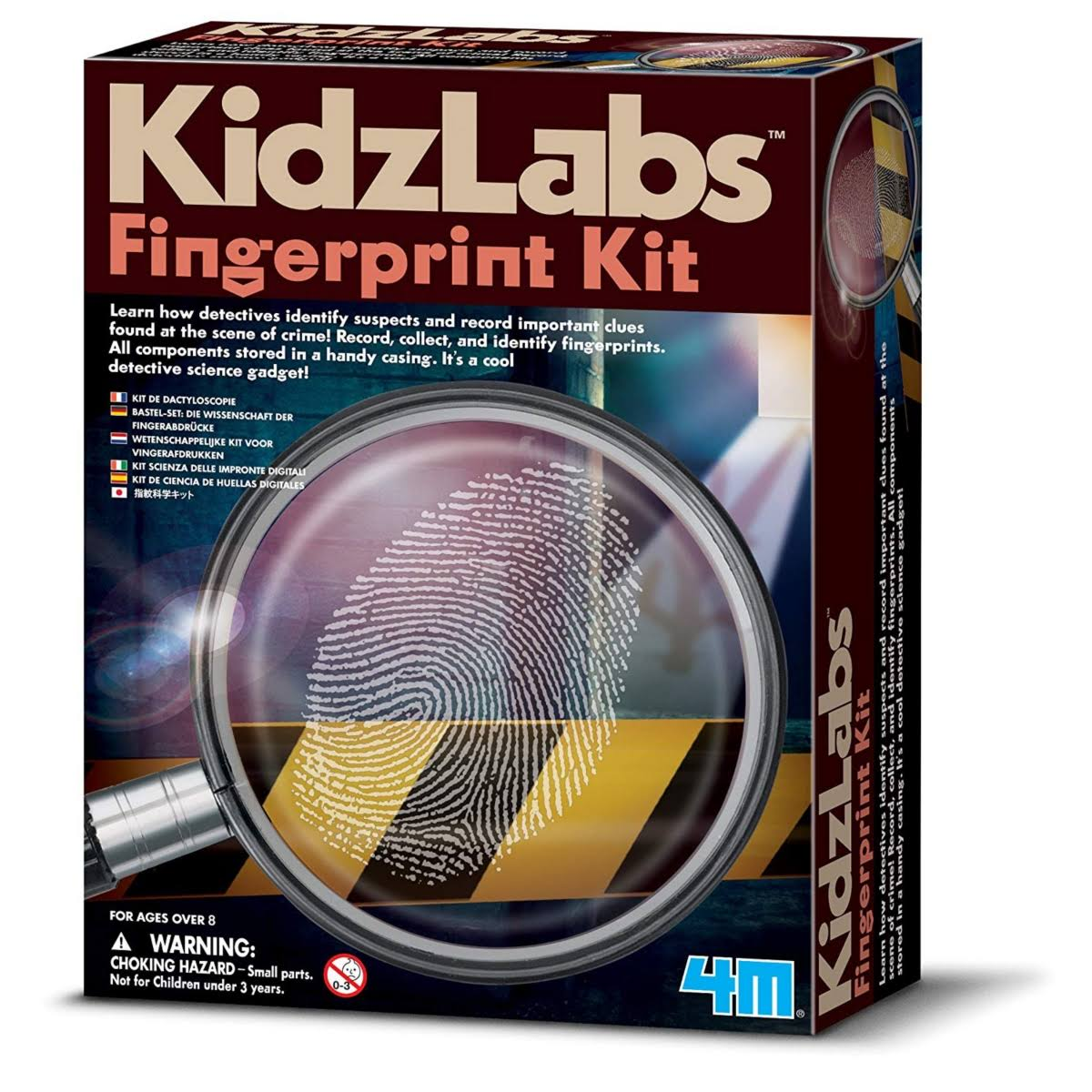4M Detective Science Fingerprint Kit - Kidz Labs