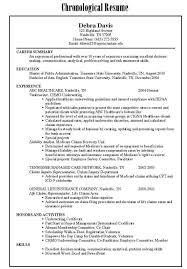 targeted resume template