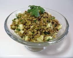 Unsalted Pumpkin Seeds Recipe by Lentil Salad With Apple Pumpkin Seeds U0026 Cilantro Fae U0027s Twist