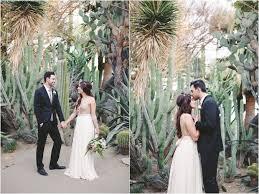Moorten Botanical Gardens Desert inspired wedding shoot