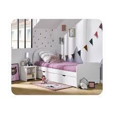 ma chambre d enfant lit enfant gigogne luen 90x190 cm blanc ma chambre d enfant la