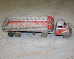 100 Length Of A Semi Truck Bargain Johns Ntiques 1950S Hubley 500 Series Tractor With