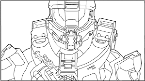 Halo Coloring Pages To Print
