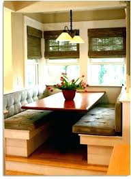 Dining Room With Bench Seating Corner Seat Table
