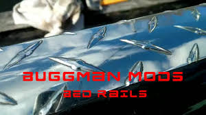Diamond Plate Bed Rail Caps by Buggman Ford Ranger Diamond Plate Bed Rails U0026 Tool Box Polishing