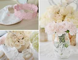 4 28 Mason Jars With Lace And Burlap