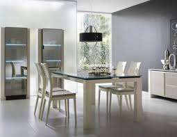 Dining Room Modern Sets Showing Intriguing Design Fresh Interior Chic Contemporary