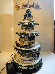 Danbury Mint Pittsburgh Steelers Village Christmas Tree