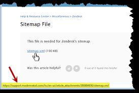 Creating Zendesk Sitemaps – Help & Resource Center