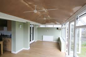 Insulating A Vaulted Ceiling Uk by Insulated Ceilings Smart Conservatory Solutions