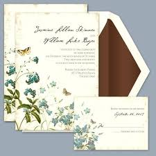 Beautiful Davids Bridal Wedding Invitations