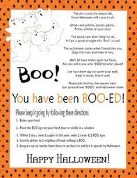 Poems About Halloween That Rhymes by You U0027ve Been Boo Ed