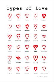 Types Of Love Inspiring Poster Design Ilovedoodle