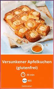 versunkener apfelkuchen glutenfrei veganer kuchen