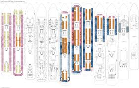Celebrity Equinox Deck Plan 6 by Costa Fortuna Lisbona Deck Plan Tour