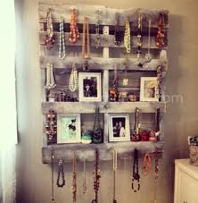 DIY Pallet Jewelry Organizer From Control The Clutter