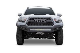 100 Truck Front Bumpers ADDF687382730103 ADD Tacoma Honeybadger Winch Bumper
