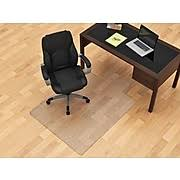 Glass Chair Mat Canada by Chairmats Carpet And Hard Floor Protection Staples