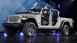 100 4 Door Jeep Truck Gladiator Reveal New Truck Debuts At LA Auto Show