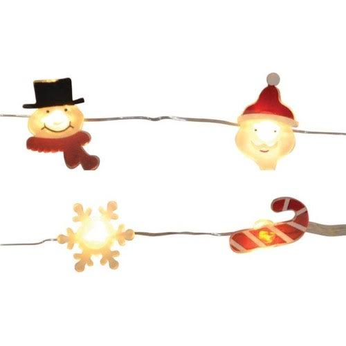 Celebrations 9016814 Battery Operated Figure Covers LED Mini Light Set Warm White - 12 Lights - Case of 12