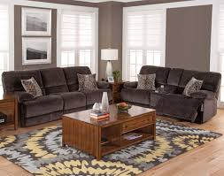 Chateau Dax Jackson Leather Sofa by New Classic Furniture Idaho 2 Piece Power Living Room Set In Shadow