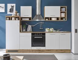 details zu küche mad küchenblock küchenzeile komplettküche 280cm singleküche miniküche weiß