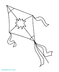 Kite Color Pages