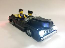 LED Lighting Kit for LEGO Cars Double Clear and Double Red LED